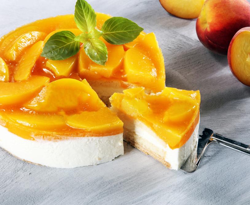 Гель со вкусом персика